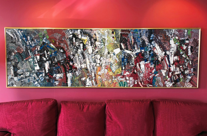 Supreme Riopelle Mosaic a Kaleidoscope of Colour