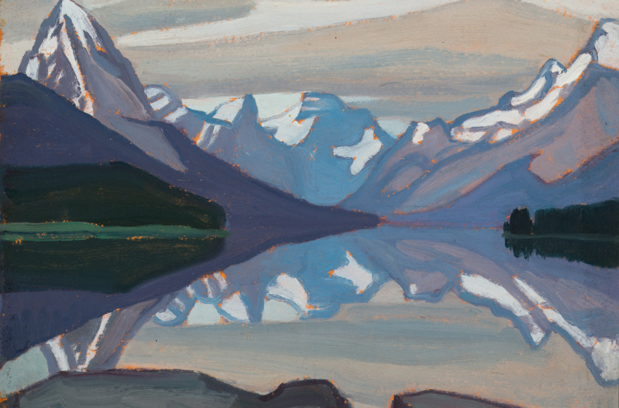 Featured Painting: Lawren Harris Maligne Lake, Jasper Park, 1924