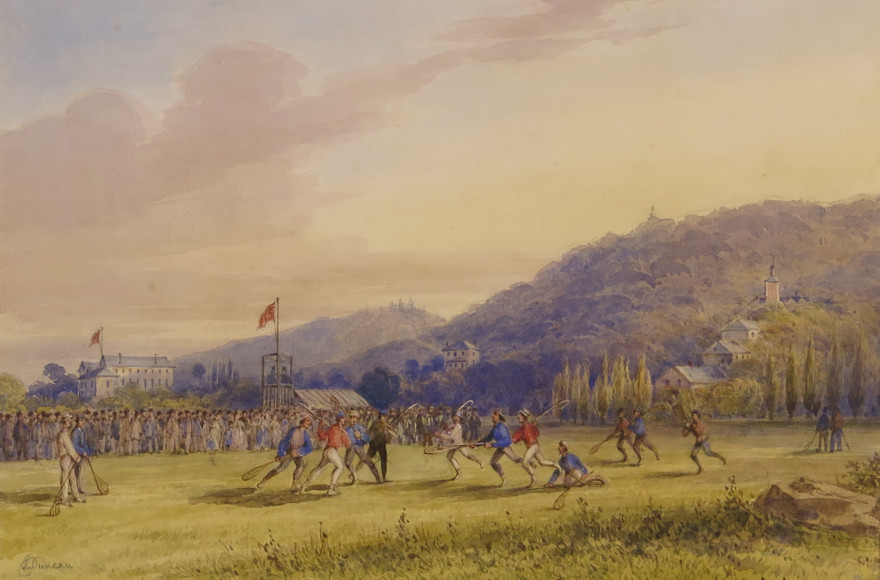 Duncan Watercolour An Important Snapshot of 19th Century Canada