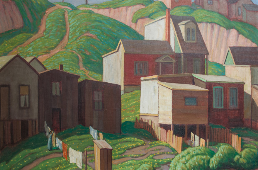 Featured Painting: Lawren Harris, Spring in the Outskirts, 1922
