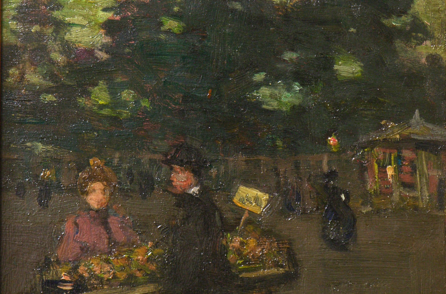 Exceptional J.W. Morrice Panel a Display of Artist's Modern Vision