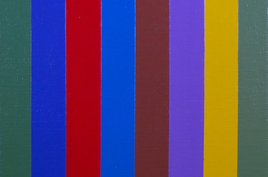 Molinari Stripe Painting A Source of Pure Joy