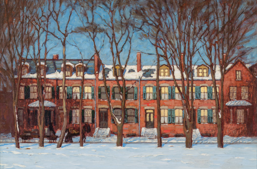 Historic Sale Features Lawren Harris' First Major Canvas of Downtown Toronto Housing