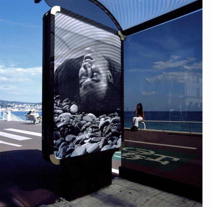Le monde appartient à ceux qui se levent tôt / Promenade des Anglais, Nice