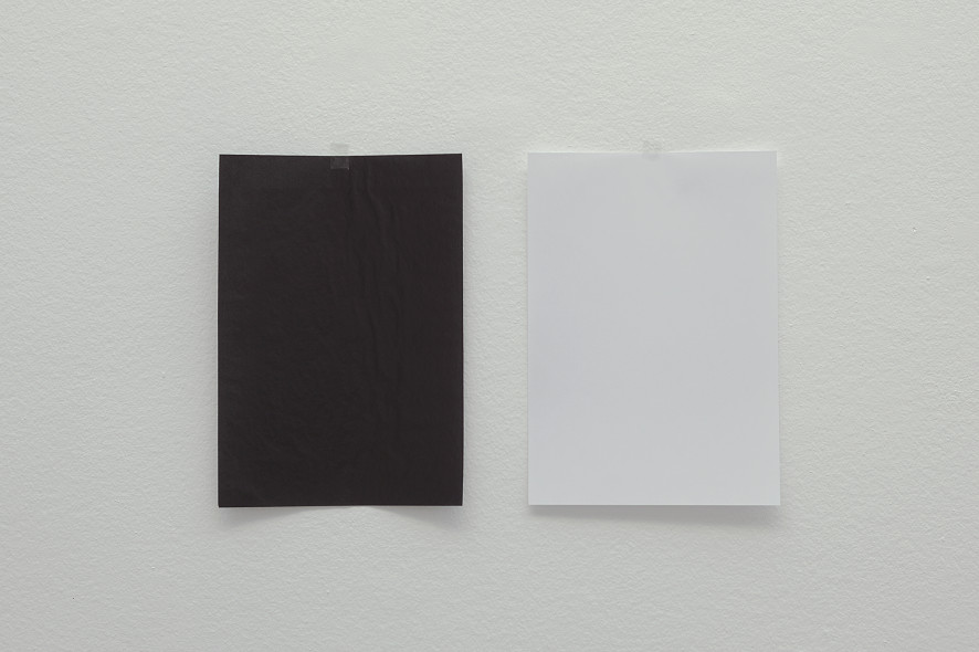 The impossibility of the white to be black and the black to be white