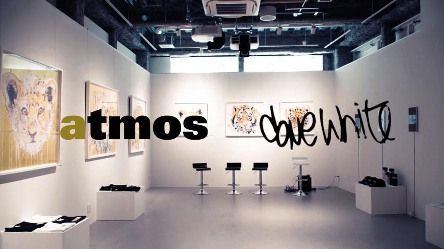 Atmos x Dave White , Exhibition & Colab, Tokyo