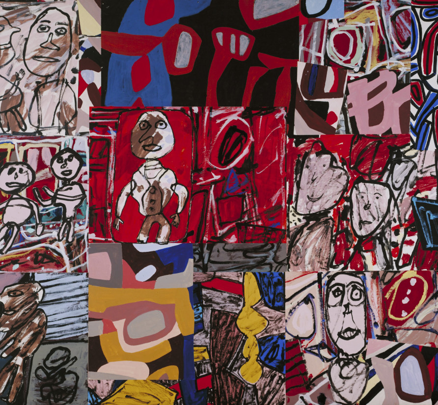 Jean Dubuffet, V'icissitudes (Les Vicissitudes) January 1977', Tate: Purchased 1983 © 2021 ADAGP, Paris/DACS, London © Tate