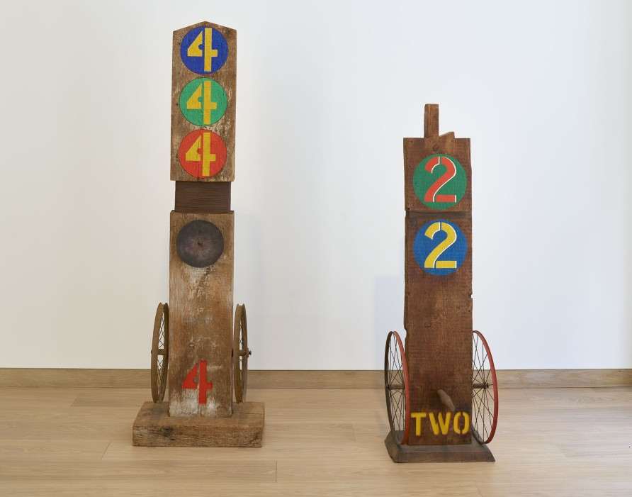 <p>Robert Indiana 'Four' and 'Two', 1962</p><p></p>
