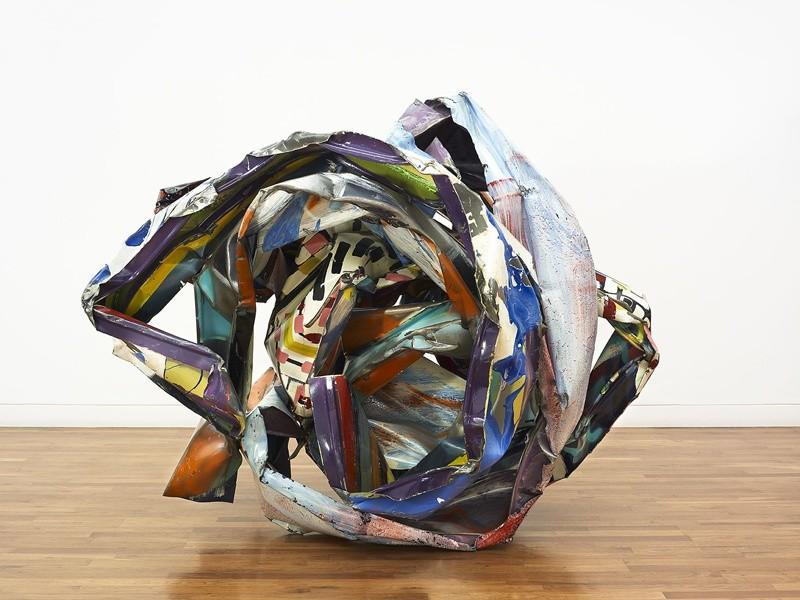 <p><span>John Chamberlain, Avery Fair, 1992,painted steel,55 1/2 x 65 x 64 5/8 in /141 x 165.1 x 164.1 cm</span></p>