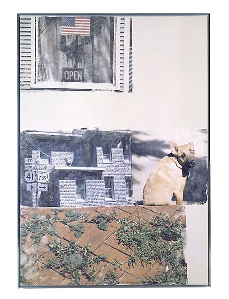 <p>Robert Rauschenberg,Page 10, Paragraph 3 (Short Stories), 2001,pigment transfer on polylaminate,</p><p>85 1/2 x 61 in /217.2 x 154.9 cm</p>