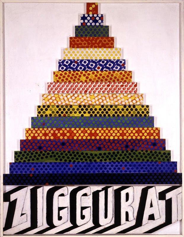 <strong>Joe Tilson</strong>, <em>Ziggurat II</em>, 1964