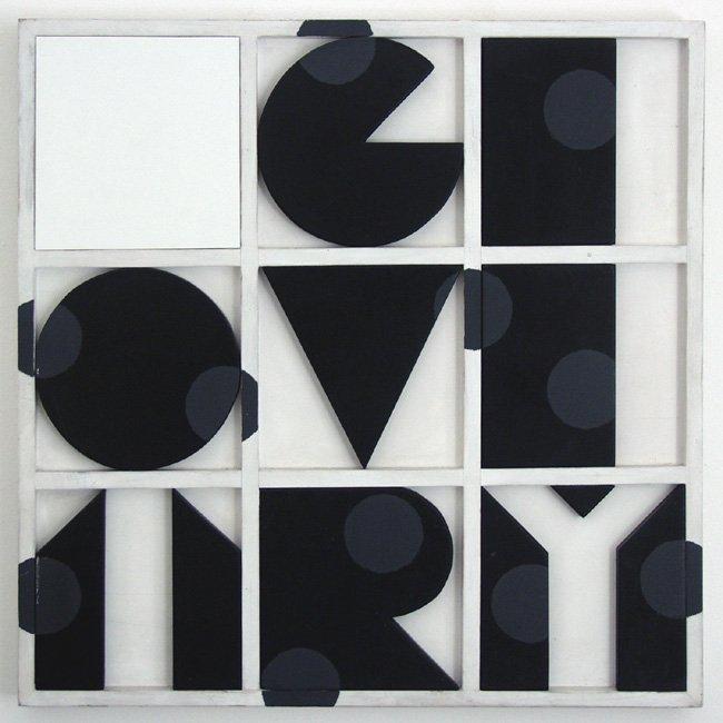 <strong>Joe Tilson</strong>, <em>Geometry ?</em>, 1967