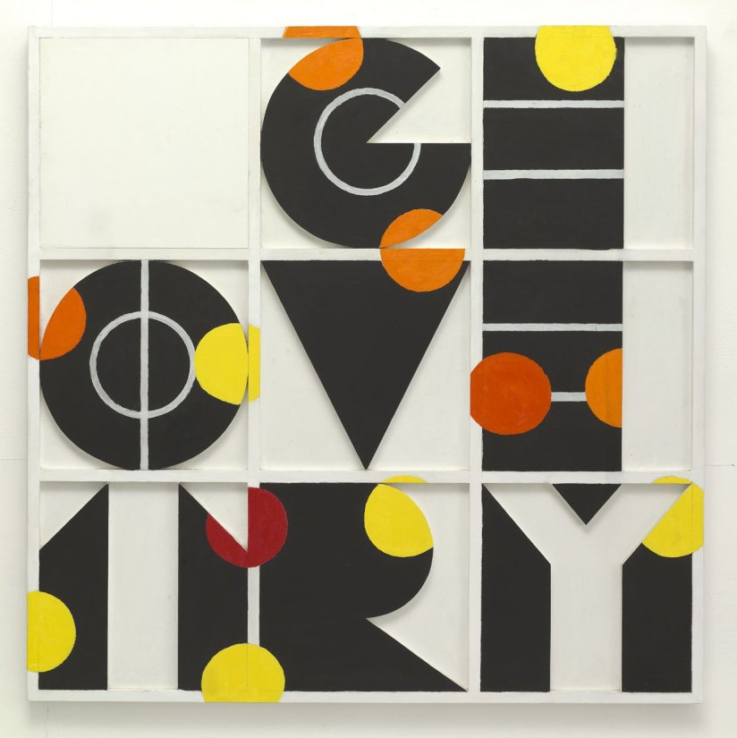 <strong>Joe Tilson</strong>, <em>Geometry? 7</em>, 1964