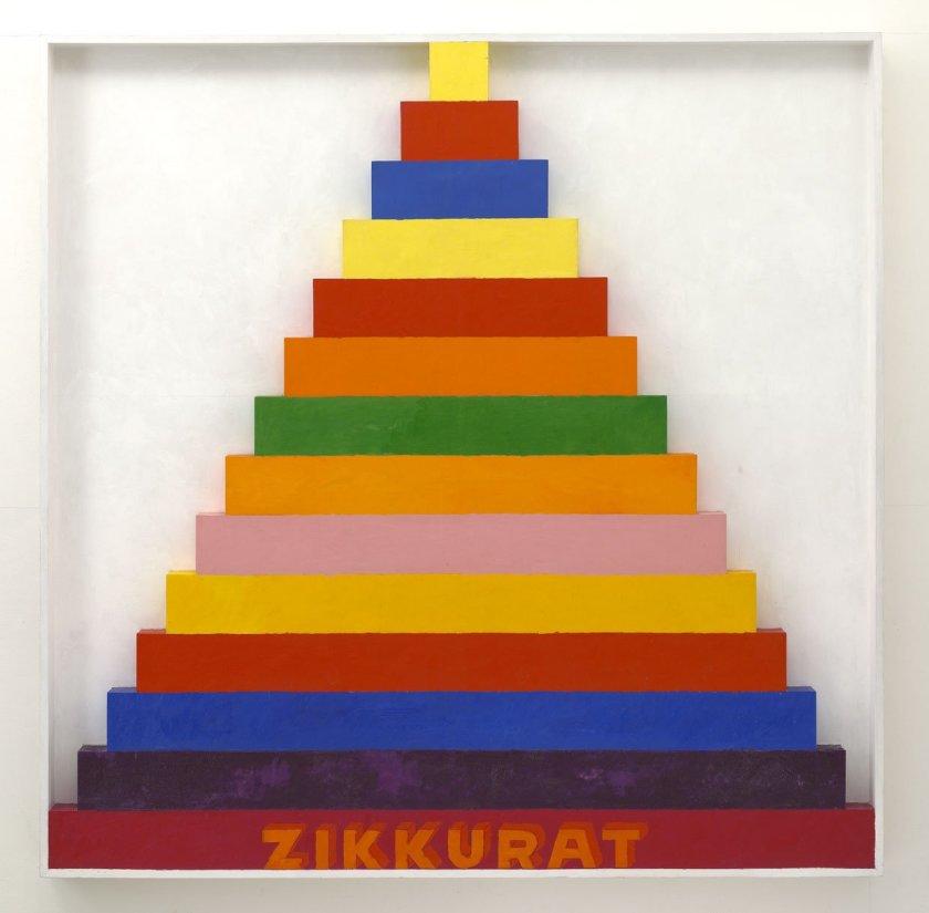 <strong>Joe Tilson</strong>, <em>Zikkurat 9</em>, 1967
