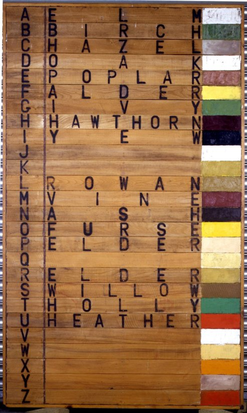 <strong>Joe Tilson</strong>, <em>Tree Alphabet</em>, 1973