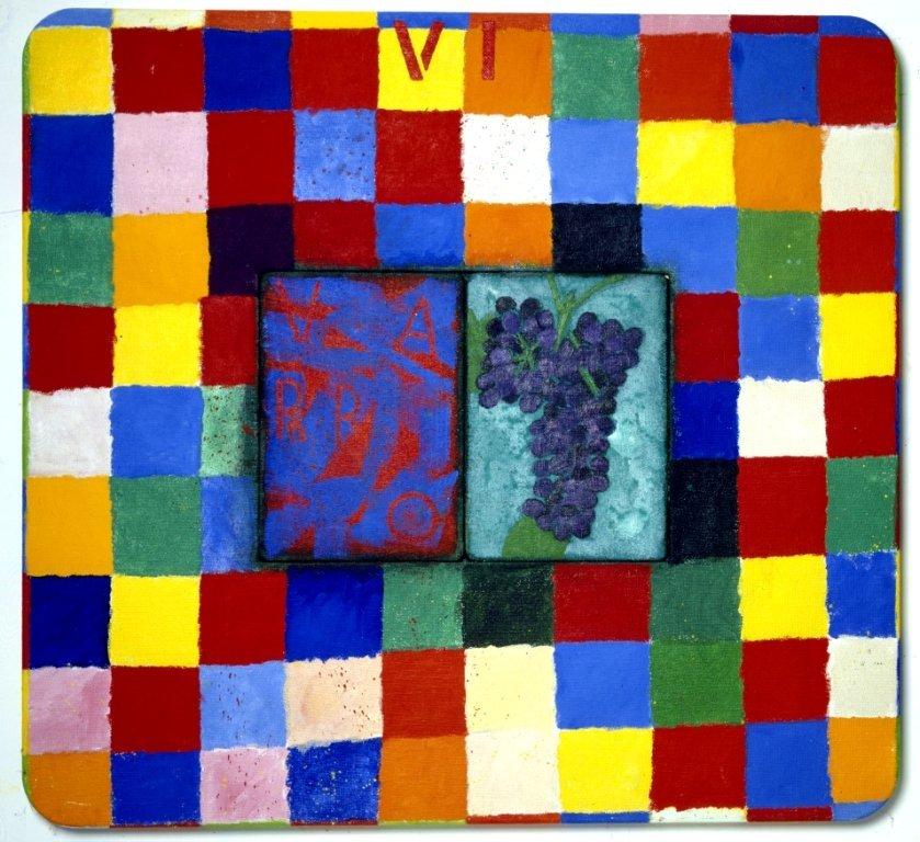 <strong>Joe Tilson</strong>, <em>Conjunction Sangiovese, Varro</em>, 2003