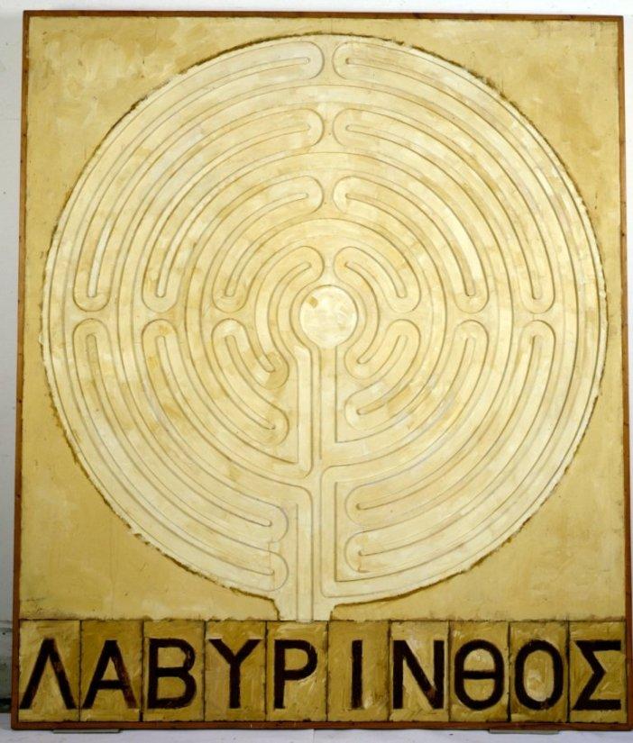 <strong>Joe Tilson</strong>, <em>Labyrinth, Maze Dance</em>, 1975