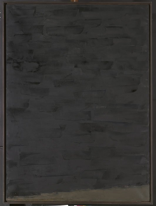 <strong>William Turnbull</strong>, <em>Black Painting</em>, 1957