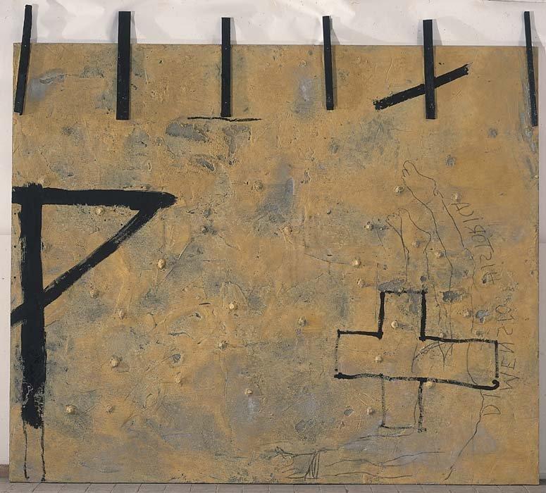 <strong>Antoni Tàpies</strong>, <em>Historical dimension / Dimensió histórica</em>, 2005
