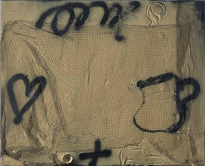 <strong>Antoni Tàpies</strong>, <em>Pitcher and Net / Gerra i xarxa</em>, 2005