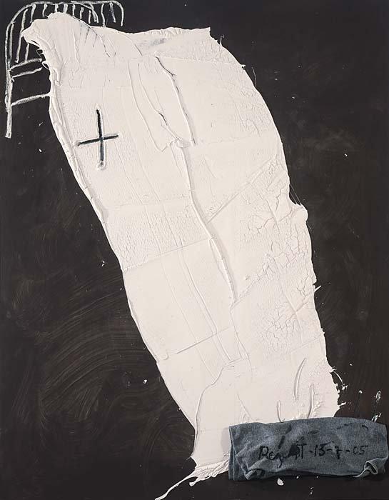 <strong>Antoni Tàpies</strong>, <em>Sheet / Llençol</em>, 2005
