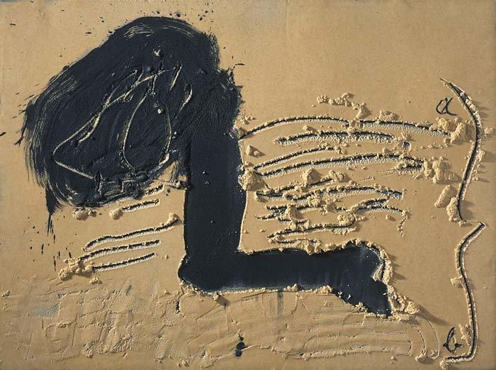 <strong>Antoni Tàpies</strong>, <em>Eye-leg / Ull-cama</em>, 2005