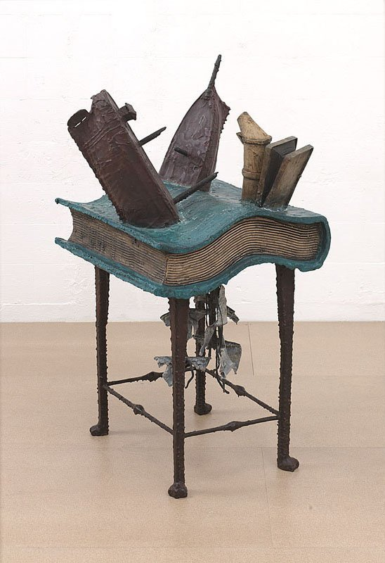<strong>Bill Woodrow</strong>, <em>Ship of Fools with Smoker</em>, 2000