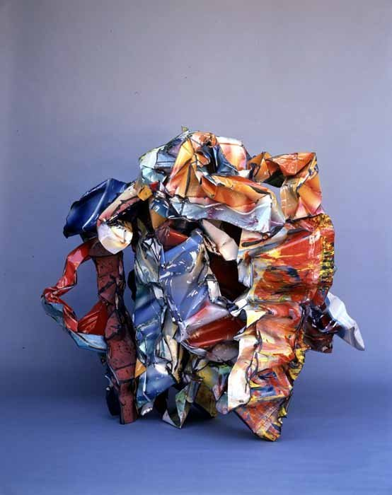 <strong>John Chamberlain</strong>, <em>Lucky Youremein</em>, 1990