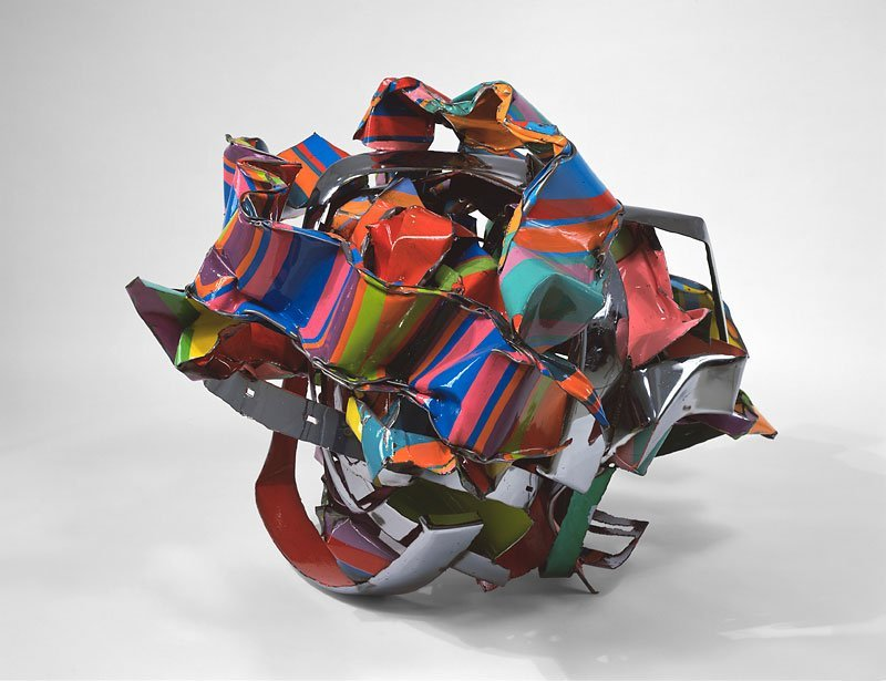 <strong>John Chamberlain</strong>, <em>Knot in the Cards</em>, 2001