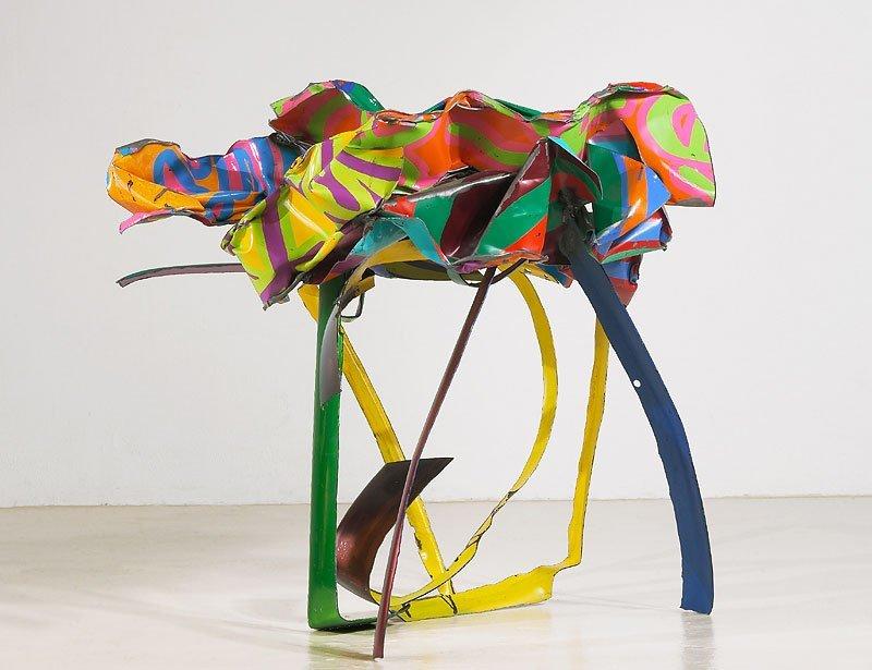 <strong>John Chamberlain</strong>, <em>Felonious Orchid</em>, 2003
