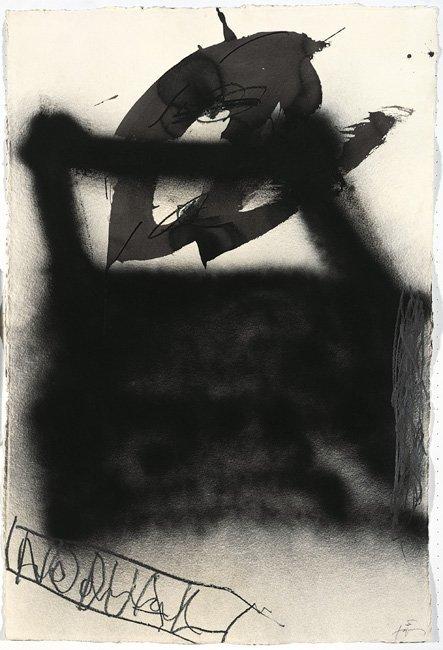 <strong>Antoni Tàpies</strong>, <em>Capsa negra (Black box)</em>, 1999