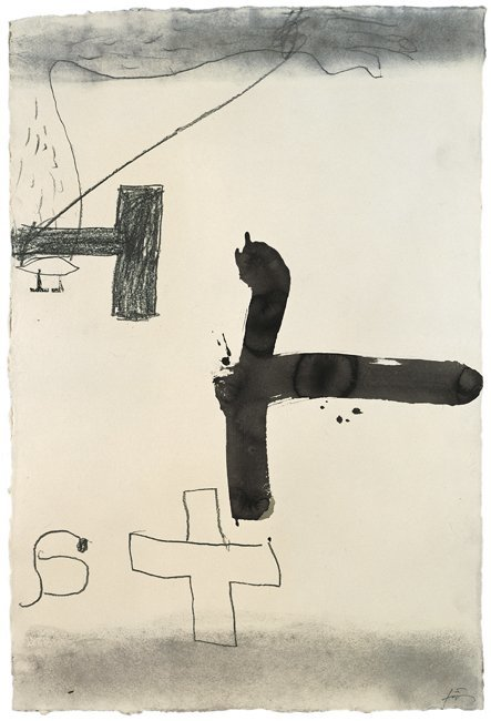 <strong>Antoni Tàpies</strong>, <em>Braç dibuixat (Drawn arm)</em>, 1999