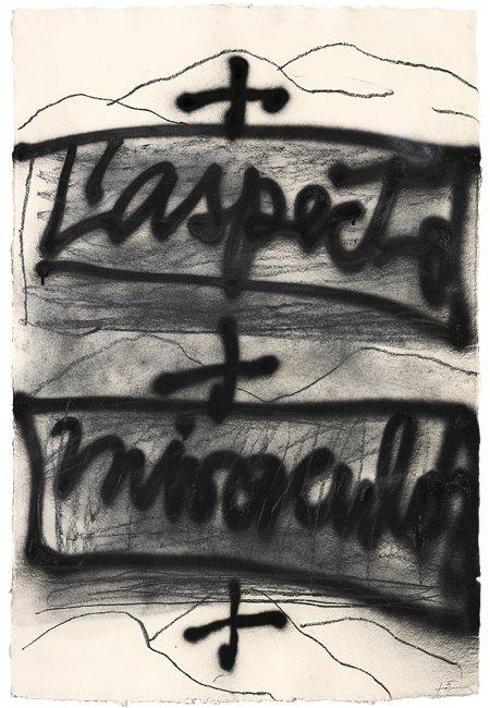 <strong>Antoni Tàpies</strong>, <em>L'aspecte miraculós (The miraculous appearance)</em>, 1999