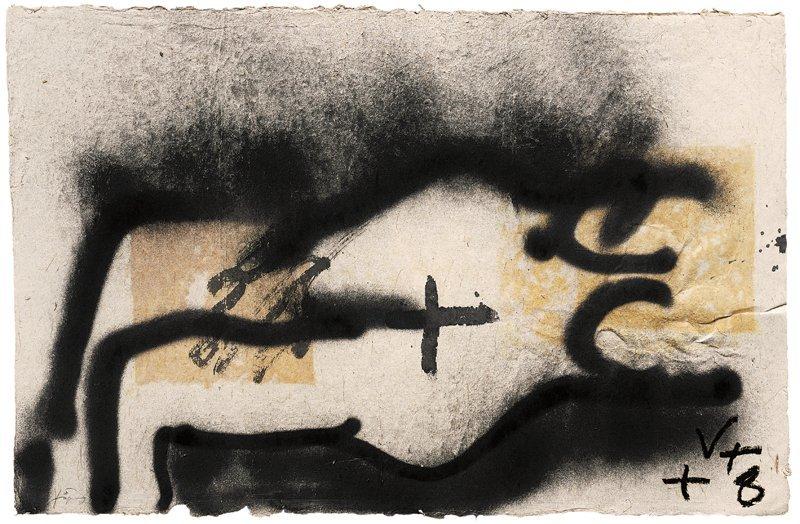 <strong>Antoni Tàpies</strong>, <em>Signe V (Sign V)</em>, 2001