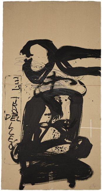 <strong>Antoni Tàpies</strong>, <em>Tenalla (Pliers)</em>, 2002