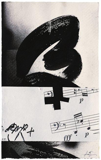 <strong>Antoni Tàpies</strong>, <em>Partitura II (Score II)</em>, 2004