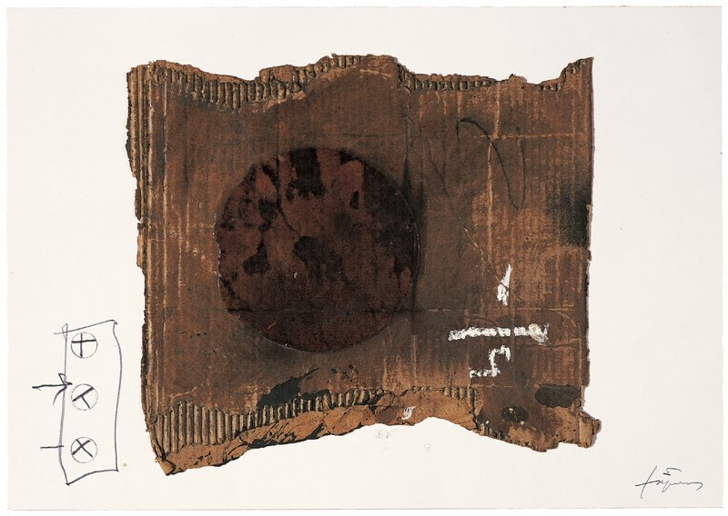 <strong>Antoni Tàpies</strong>, <em>Collage del cartó (Collage of cardboard)</em>, 2004