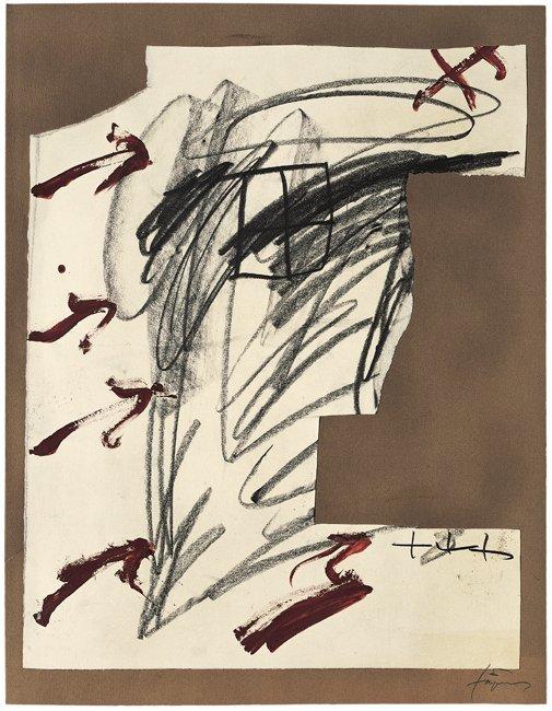 <strong>Antoni Tàpies</strong>, <em>Quatre fletxes (Four arrows)</em>, 2004
