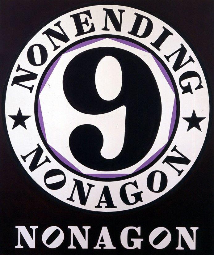 <strong>Robert Indiana</strong>, <em>Nonending Nonagon</em>, 2001