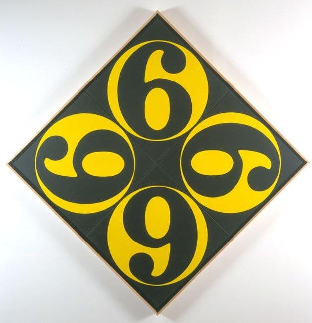 <strong>Robert Indiana</strong>, <em>The Four Sixes</em>, 2002