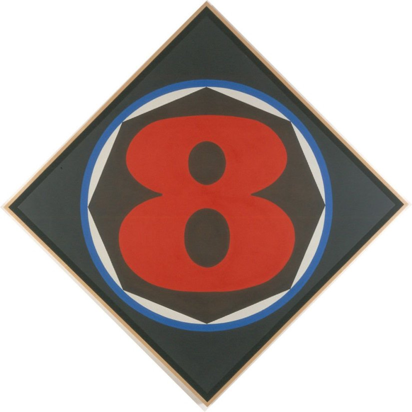 <strong>Robert Indiana</strong>, <em>Eight</em>, 2002