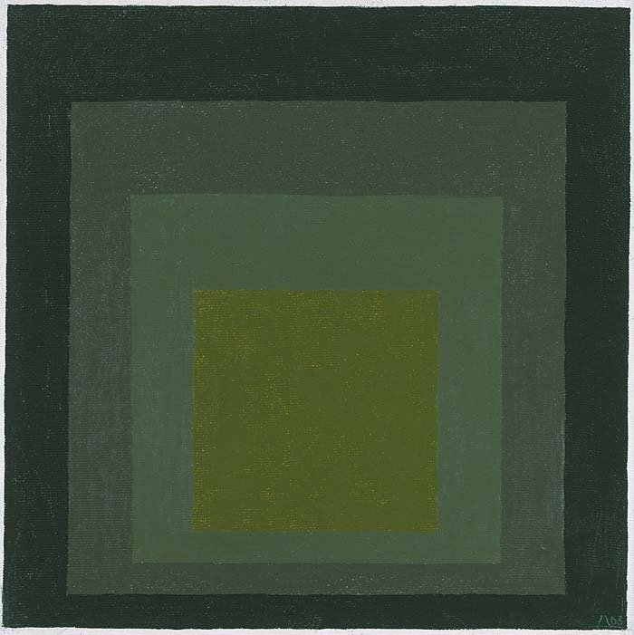<strong>Josef Albers</strong>, <em>Study for Homage to the Square</em>, 1963
