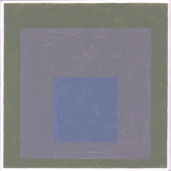 <strong>Josef Albers</strong>, <em>Homage to the Square</em>, 1961