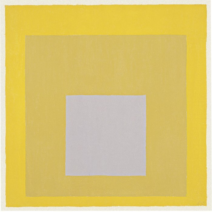 <strong>Josef Albers</strong>, <em>Study for Homage to the Square</em>, 1970