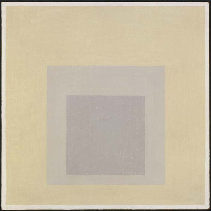 <strong>Josef Albers</strong>, <em>Study for Homage to the Square</em>, 1962