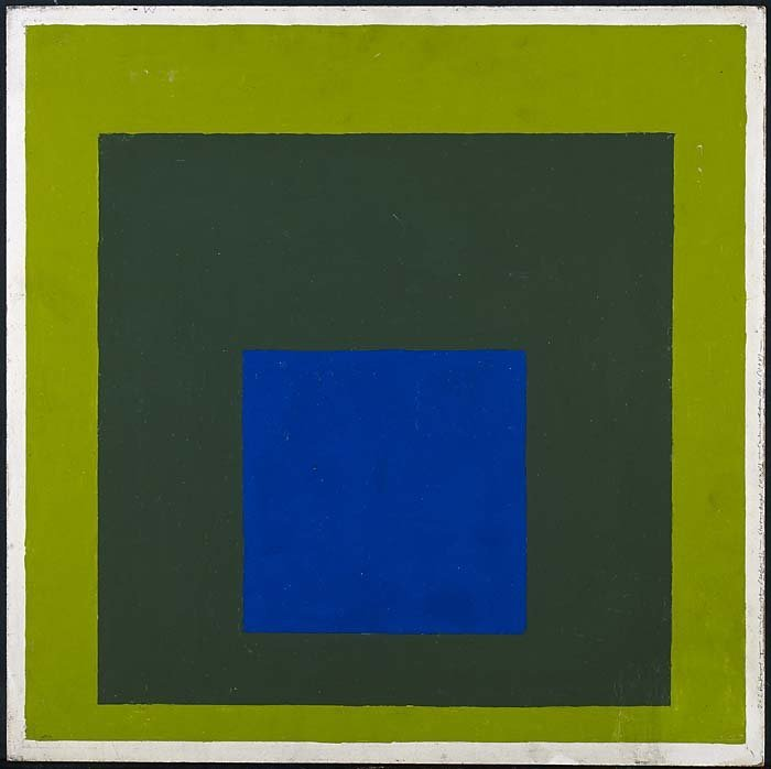 <strong>Josef Albers</strong>, <em>Homage to the Square</em>, 1957