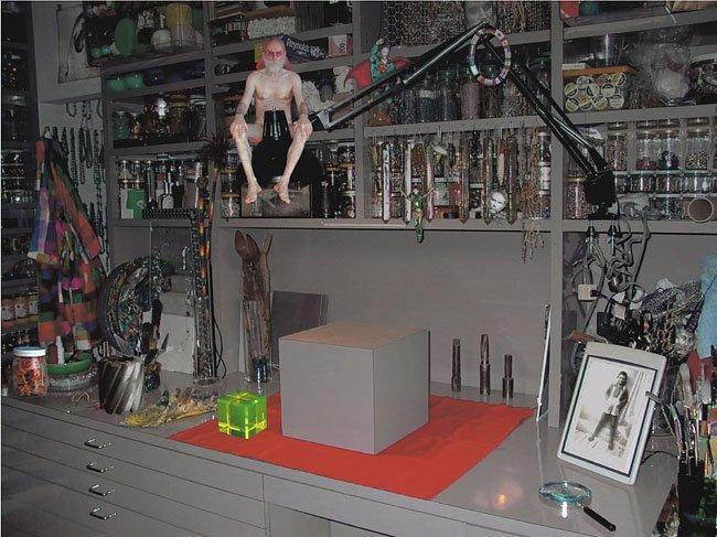 <strong>Lucas Samaras</strong>, <em>Studio Workbench 2</em>, 2003