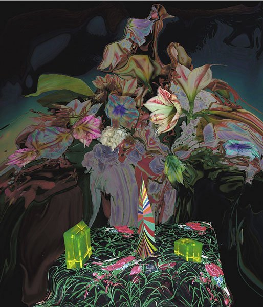 <strong>Lucas Samaras</strong>, <em>Evening Bouquet 4</em>, 2003