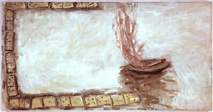 <strong>Susan Rothenberg</strong>, <em>Dominoes Squared</em>, 2001-2003
