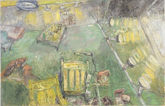 <strong>Susan Rothenberg</strong>, <em>Green Studio</em>, 2002-2003